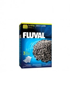 FLUVAL ZEO-CARB  3 X 150 GRS