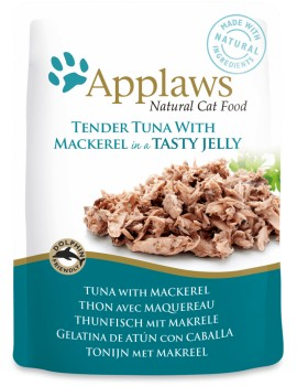 APPLAWS Cat Pouch Jelly Atun y Caballa 70g