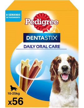 PEDIGREE DENTASTIX MEDIANO PACK 56 BARRITAS