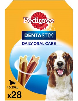 PEDIGREE DENTASTIX MEDIANO 28 BARRITAS