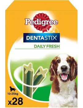 PEDIGREE DENTASTIX FRESH MEDIANO PACK 28 BARRITAS
