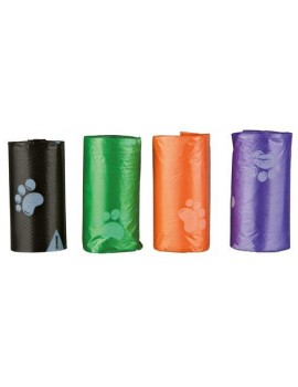 TRIXIE 4 Rollos de 20 Bolsas basura Talla S