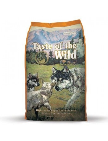 TASTE OF THE WILD Puppy High Praire 6 kg con Bisonte