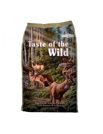 TASTE OF THE WILD Pine Forest 12,2 kg con Venado