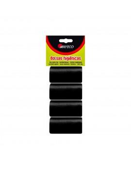 NAYECO Bolsas de Recambio Negras 4 Rollos de 20 unidades