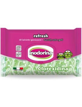 INODORINA Toallitas Clorexidina 40 unidades