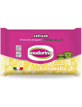 INODORINA Toallitas Citronella 40 unidades