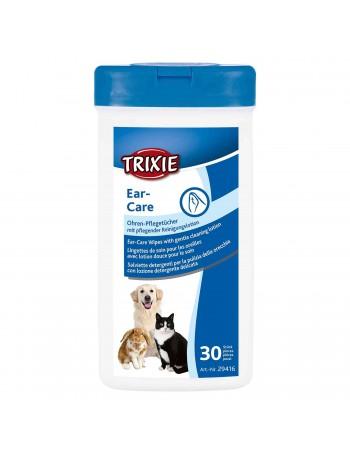 TRIXIE Toallitas Cuidado Orejas Mascotas 30uds
