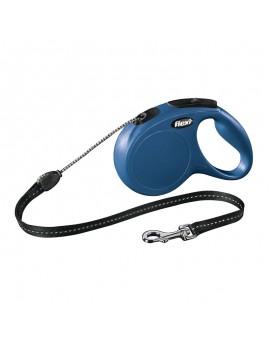 FLEXI New Classic Cordón 5m Talla M Azul