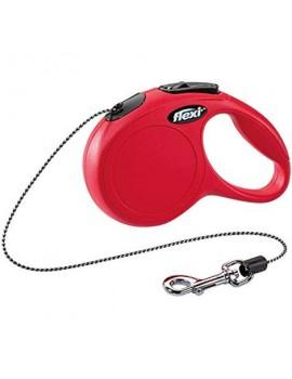 FLEXI New Classic Cordón 3m Rojo Talla XS