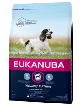 EUKANUBA Mature Medium 3Kg