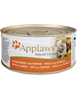 APPLAWS Cat Pollo y calabaza 156g