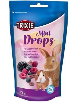 TRIXIE Mini Drops Frutas del Bosque 75g