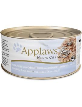 APPLAWS Cat Filete de Atun con Queso 70g