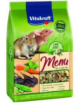 VITAKRAFT Menú Premium Vital Gerbos y Ratones 400g