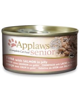 APPLAWS Cat Senior Gelatina de atun con salmon 70g