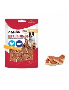 CAMON Treat & Snacks Pollo y Bacalao 100g