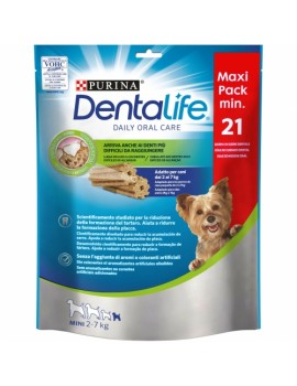 PURINA Dentalife Maxi Pack Mini 2-7kg 21 unidades