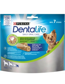 PURINA Dentalife Maxi Pack Mini 2-7kg 7 unidades