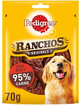 PEDIGREE Ranchos con Ternera 70g
