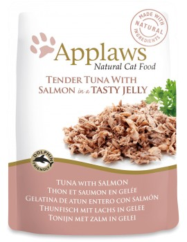 APPLAWS Cat Pouch atun y salmon 70g