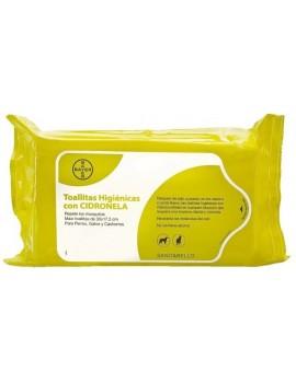 BAYER Toallitas Higiénicas Citronela