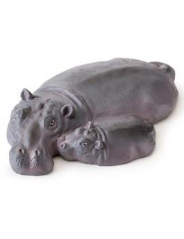 Isla Flotante Hipopotamo