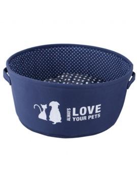 Cuna Love 35x15cm Azul