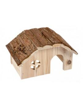 Caseta madera roedor 21x13x12cm