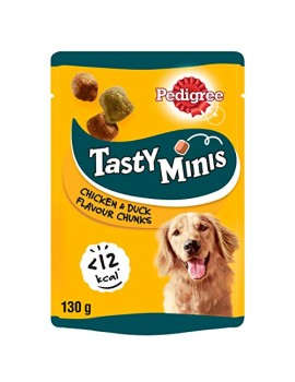 PEDIGREE Tasty Mini Pollo y Pato 130g