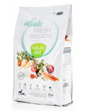 NATURA DIET Odontic Aliento Fresco 3 Kg