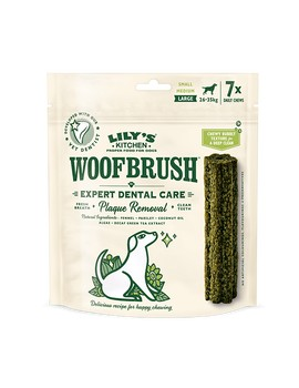 LILY'S KITCHEN Woofbrush Large 26-35kg 7 unidades
