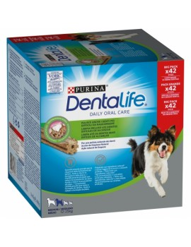 PURINA Dentalife Medium 12-25kg 42 unidades