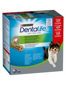PURINA Dentalife Medium 12-25kg 24 unidades