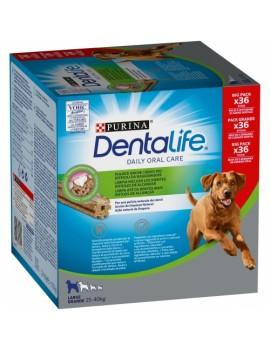 PURINA Dentalife Large 25-40kg 36 unidades