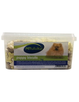 PETULUKU Puppy Biscuits 1kg