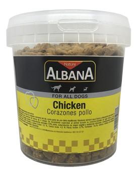 ALBANA Corazones Pollo 300g