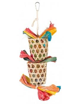 Juguetes con Materiales naturales para nidos, 35cm