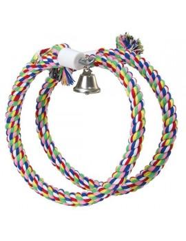 Juguete pajaro Aros colores y campana 120cm