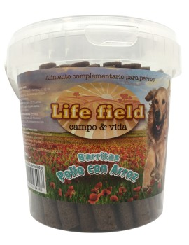 LIFE FIELD Snack Barritas Pollo 800g