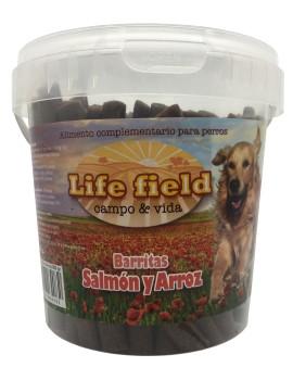 LIFE FIELD Snack Barritas Salmon 800g