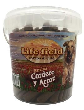 LIFE FIELD Snack Barritas Cordero 800g