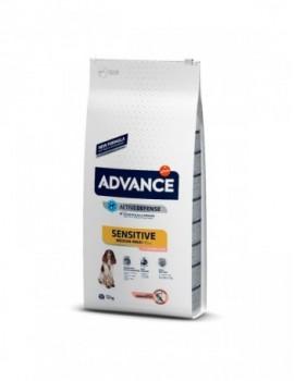 ADVANCE Adulto Medium Salmon Sensitive 12Kg