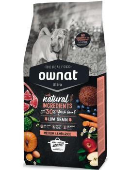 OWNAT ULTRA Medium Lamb and Rice 14kg