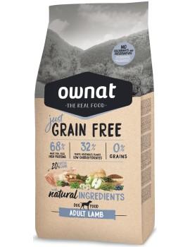 OWNAT JUST Grain Free Adult Lamb 14kg