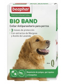 BEAPHAR Bio Band Collar Repelente Natural 65cm