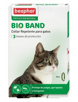 BEAPHAR Bio Band Collar Repelente Natural 35cm