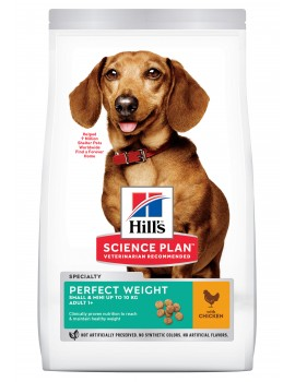 HILLS Canine Perfect Weight Small & Mini 6Kg