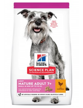 HILLS Canine Mature +7 Light Small & Mini 2,5Kg