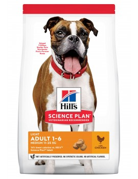 HILLS Canine Adult Medium Light 2,5kg
